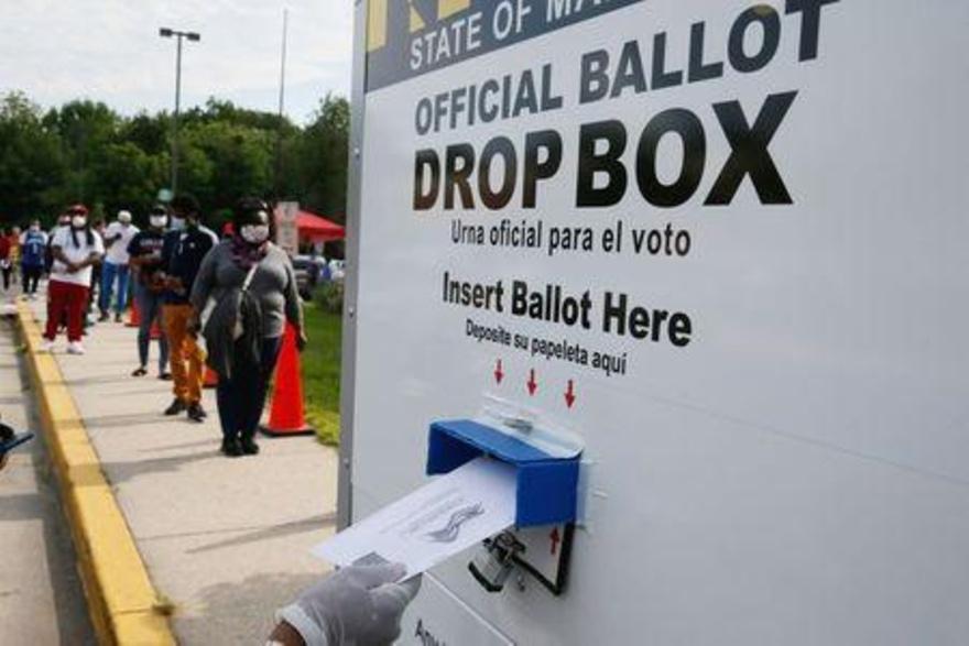 Se opone mayoría de votantes estadounidenses a posponer las elecciones de noviembre