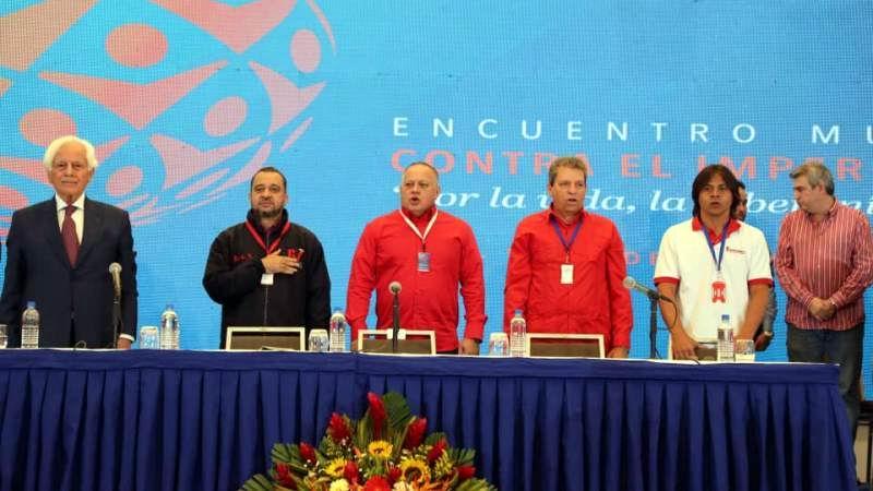 Concluye en Venezuela Encuentro Mundial contra el Imperialismo