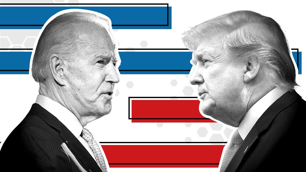 El demócrata Biden supera por 11 puntos al republicano Trump en intención de voto