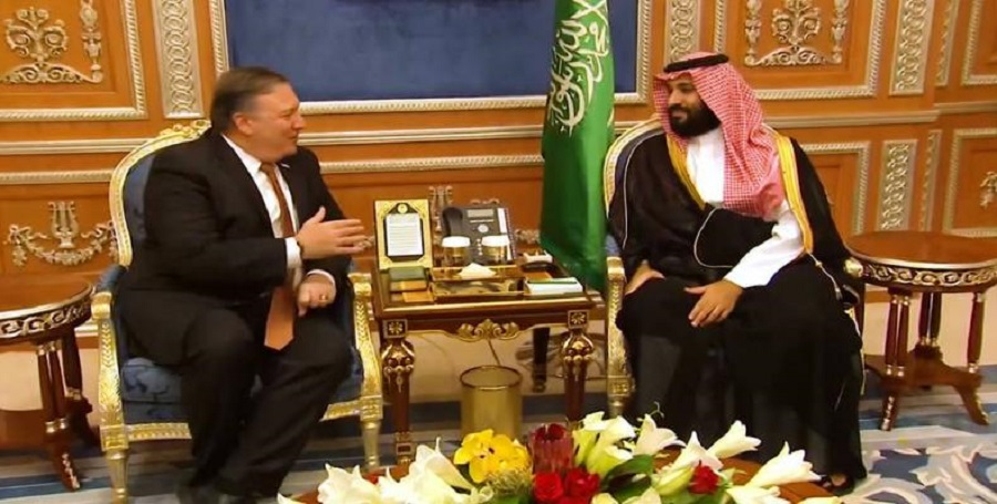 U.S. State Department claims Pompeo has authority for Saudi arms deal