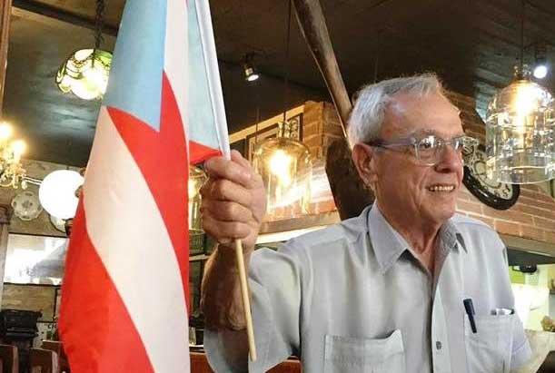 Lamentan en Puerto Rico deceso de Eusebio Leal