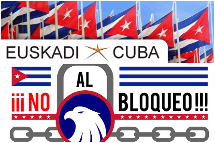 Spanish associations demand cessation of US blockade against Cuba