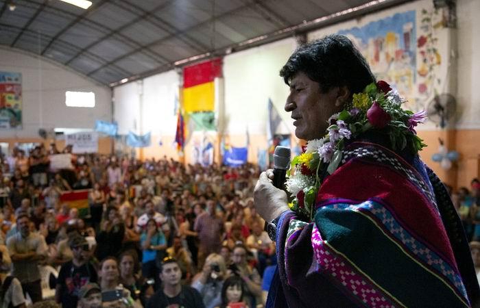 Evo Morales se reunirá con comunidad boliviana en ciudades argentinas