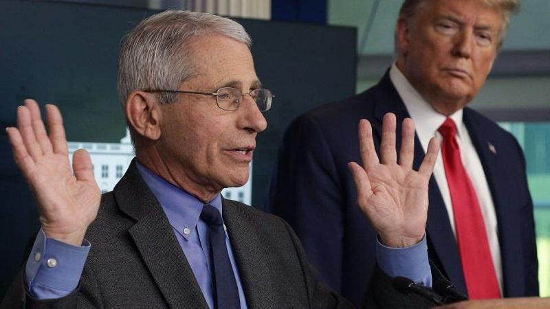 Insiste Anthony Fauci en mantener medidas restrictivas contra el coronavirus en Estados Unidos