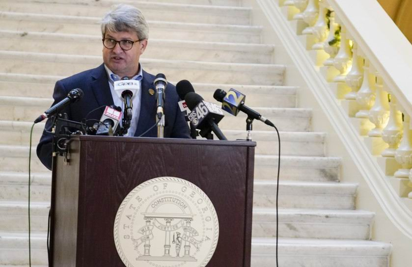 Gabriel Sterling, un alto funcionario de la oficina del secretario de Estado de Georgia, el republicano Brad Raffensperger, dedicó duras palabras al presidente saliente