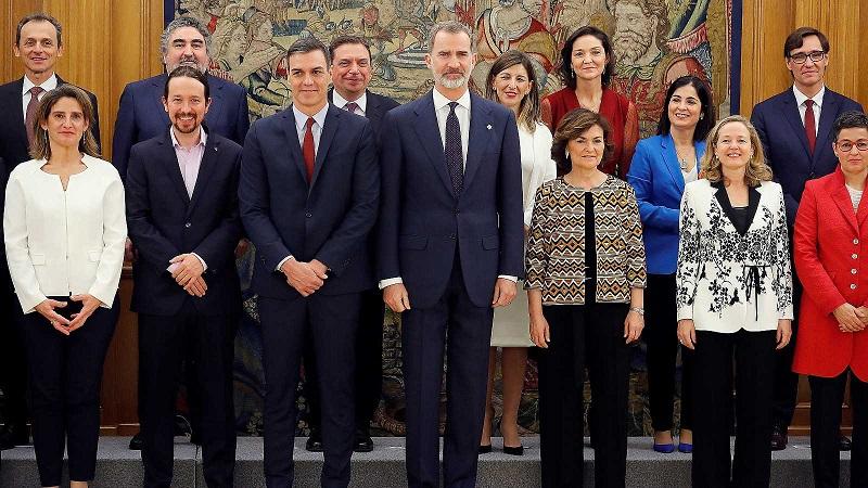 Juran sus cargos ministros de inédito gobierno de coalición en España (+VIDEO)