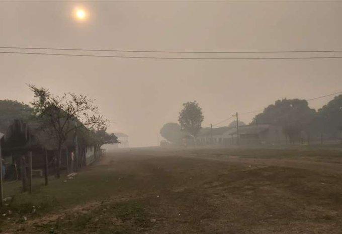 Incendios forestales amenazan a reserva natural de Bolivia