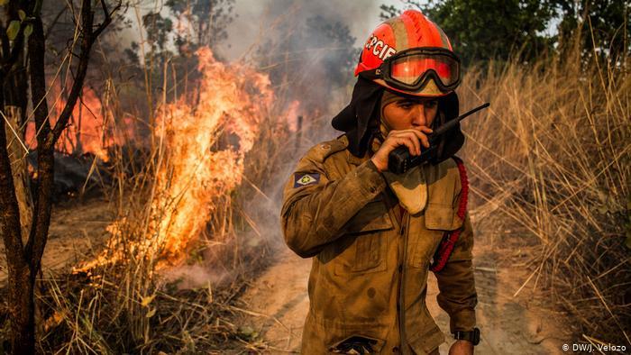 Los incendios forestales amenazan a América Latina