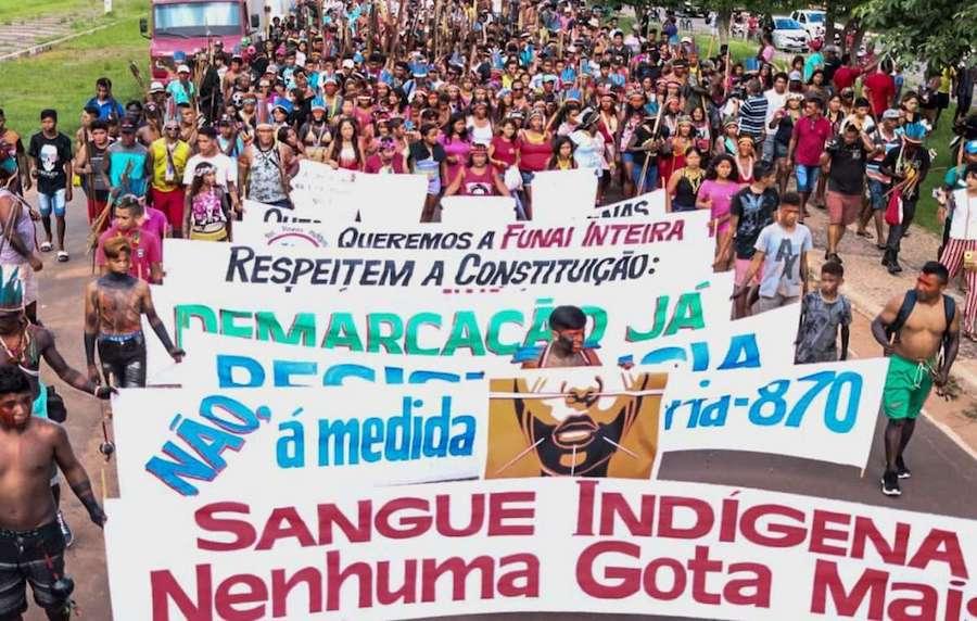 Califican en Brasil de genocida las políticas de Jair Bolsonaro contra los indígenas