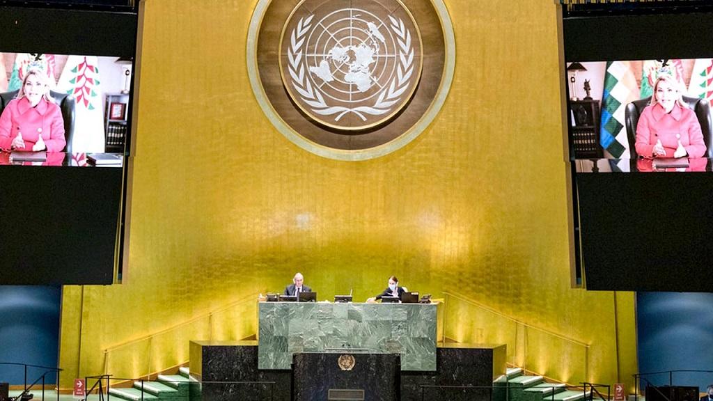 Rechaza Argentina las acusaciones de la presidenta de facto de Bolivia en la ONU