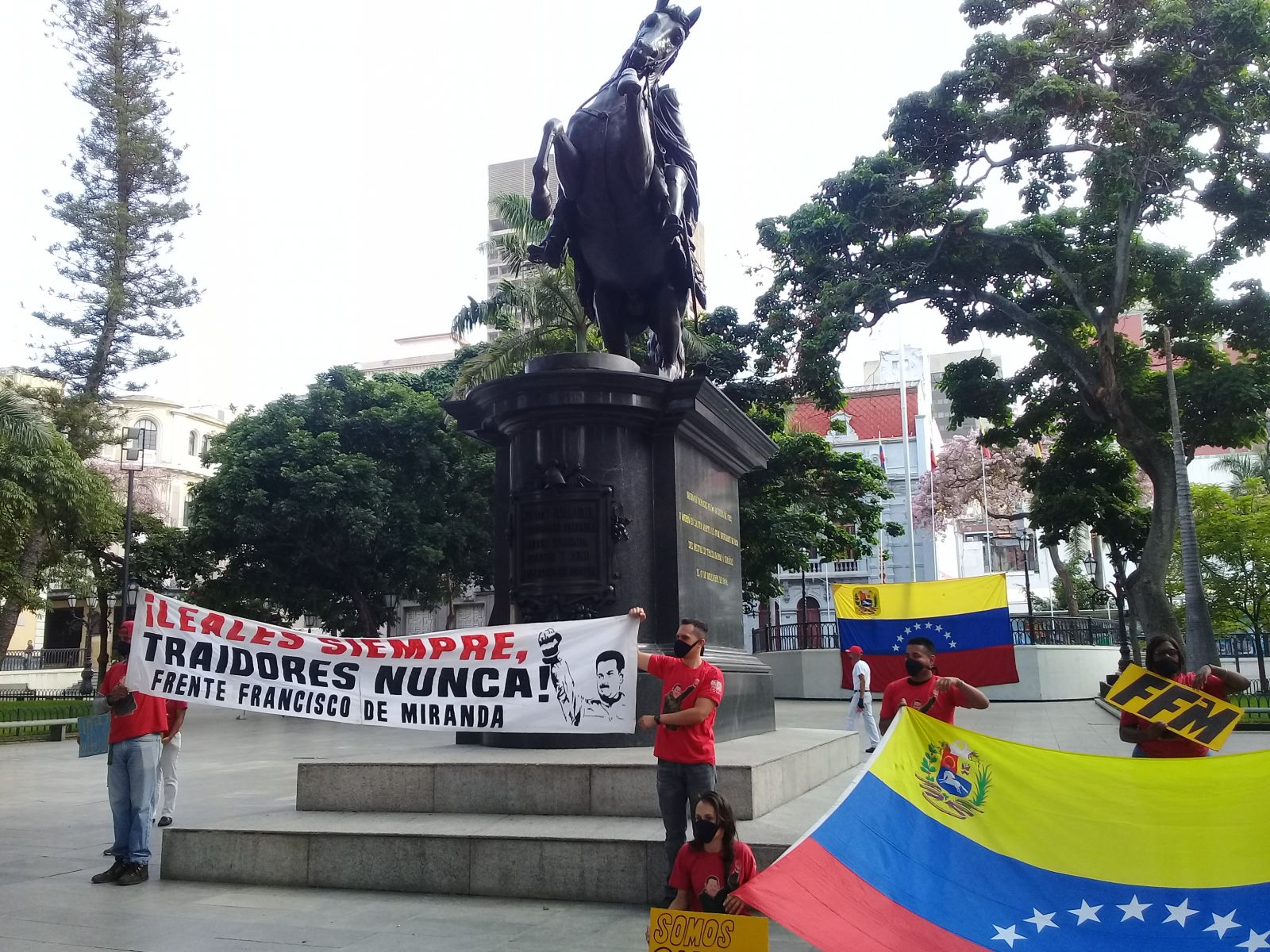 Desafían la Covid-19 jóvenes venezolanos