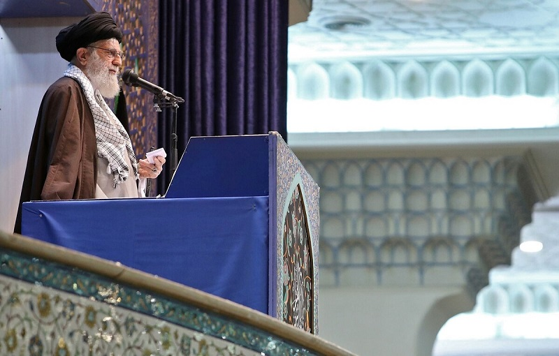 Pide líder supremo de Irán unidad y firmeza del pueblo ante los enemigos del país