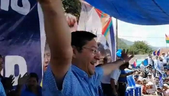 Resalta Luis Arce unidad del MAS con vistas a las próximas elecciones en Bolivia