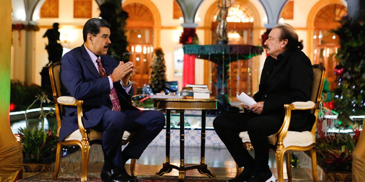Promete Nicolás Maduro un gran cambio para el país en 2020