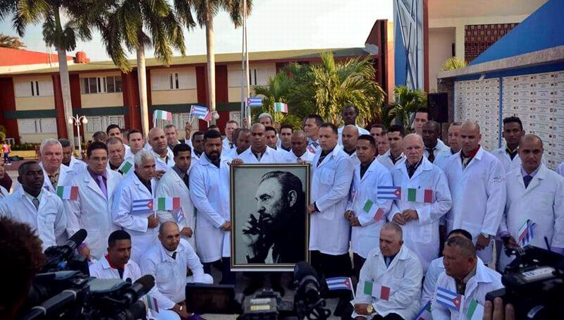 Former Brazilian president thanks solidarity of Cuban doctors