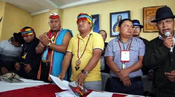 Presentan en Ecuador la llamada Minga por la vida