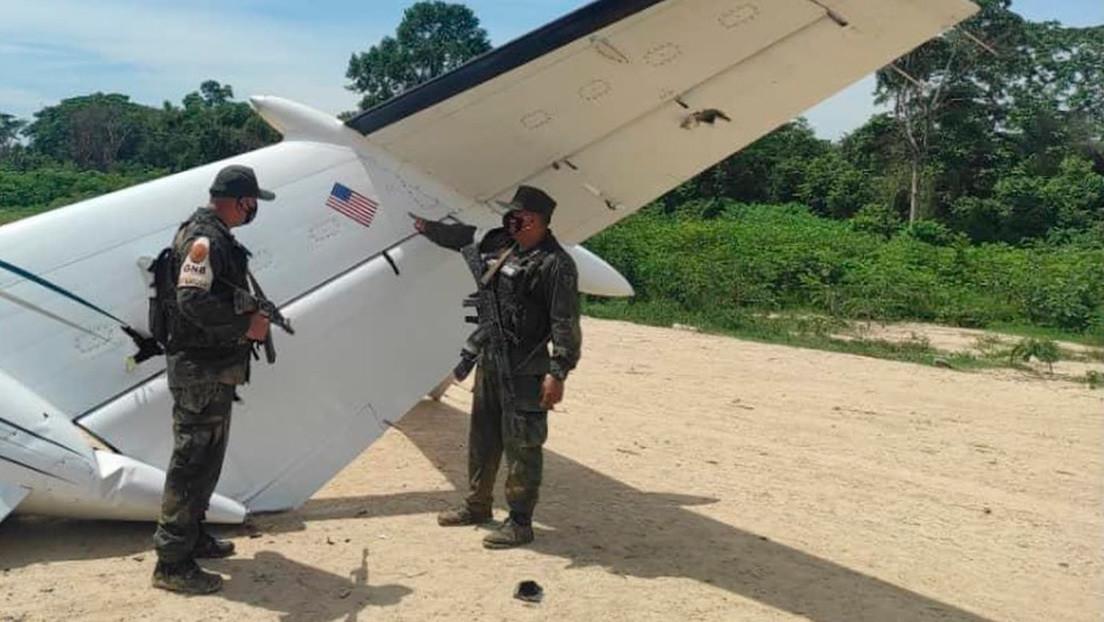 Venezuela derriba una aeronave de narcotráfico con matrícula estadounidense
