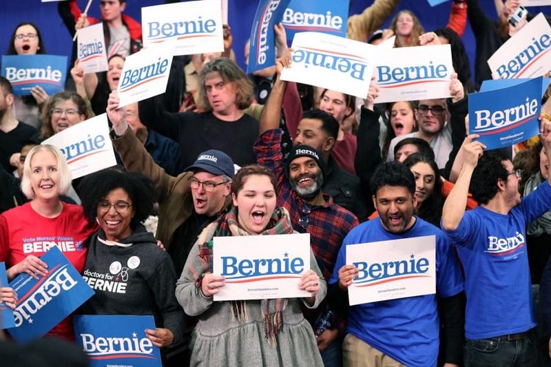 Se confirma camino prometedor de Bernie Sanders hacia la nominación presidencial demócrata