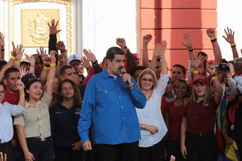 Llama Nicolás Maduro a la juventud a garantizar la soberanía de Venezuela