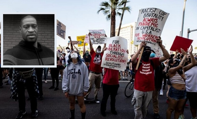 Podría el Pentágono utilizar a sus soldados para combatir protestas por asesinato de afroestadounidense