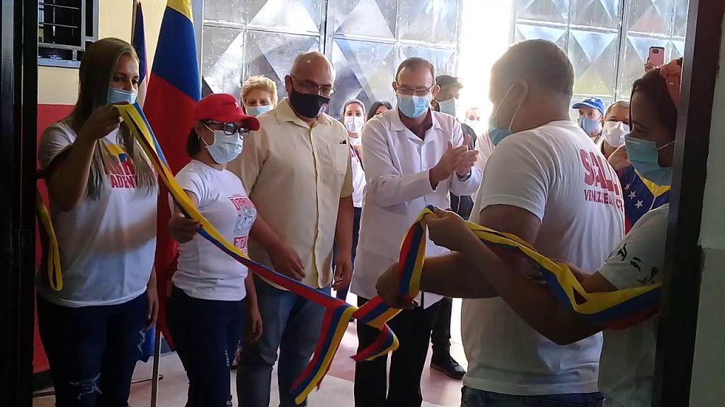 Reinauguran centro de salud en Caracas