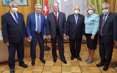 Cuban Deputy Prime Minister with intense work program in Russia