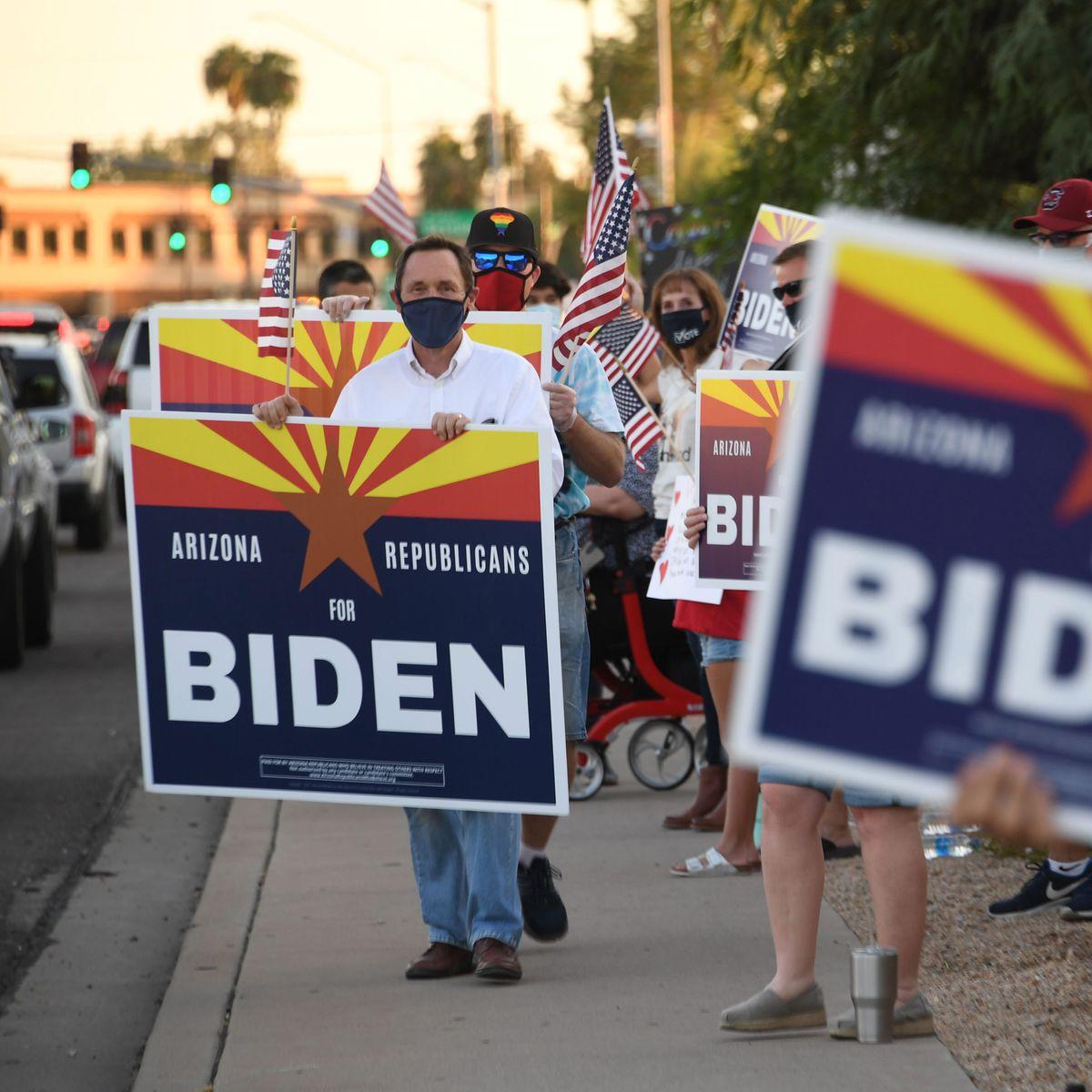 Buscará Trump hoy asegurarse victoria en estado clave de Arizona