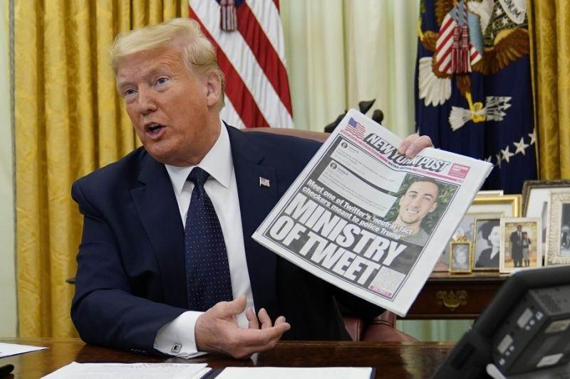 Trump firma decreto ejecutivo sobre redes sociales