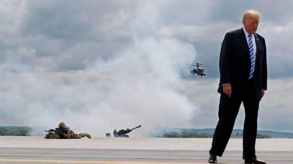 Se tensa la cuerda entre el presidente Donald Trump y la cúpula militar de EEUU