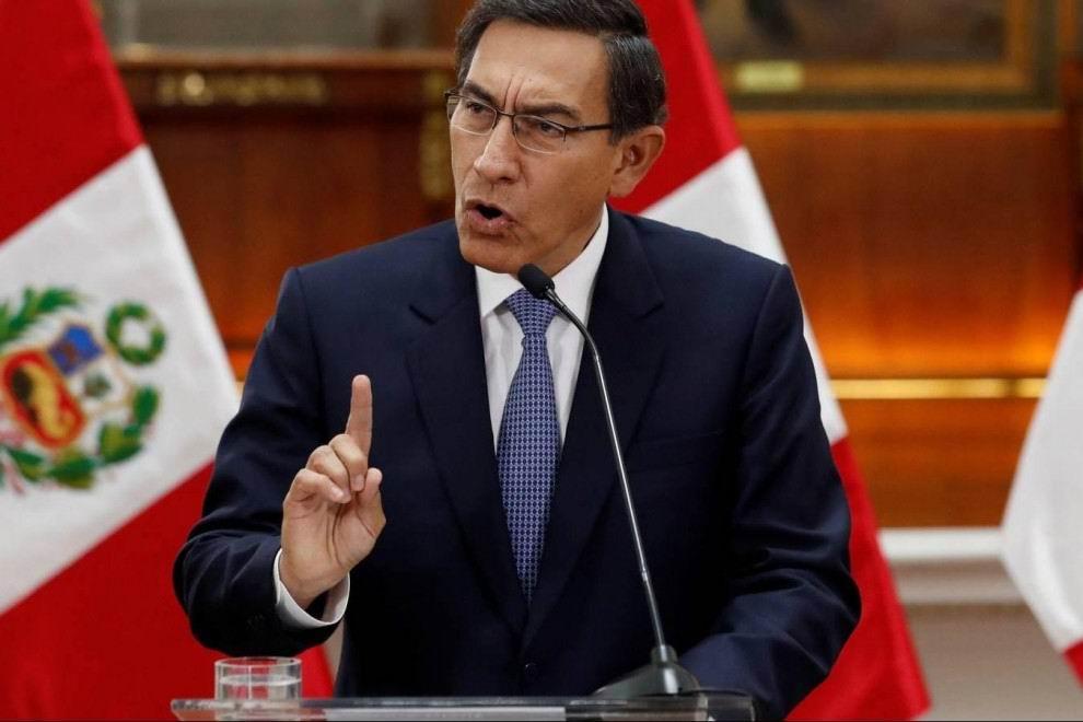 El presidente Martin Vizcarra presentará demanda ante el tribunal constitucional de Perú