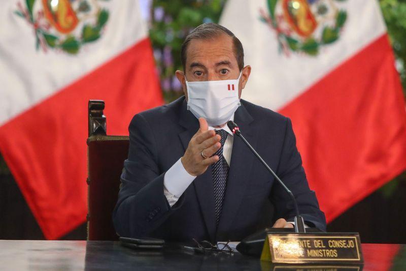 Walter Martos, presidente del Consejo de Ministros de Perú