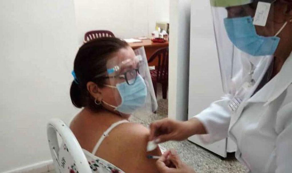 Abdala en Cienfuegos: el agradecimiento de los trabajadores de la salud