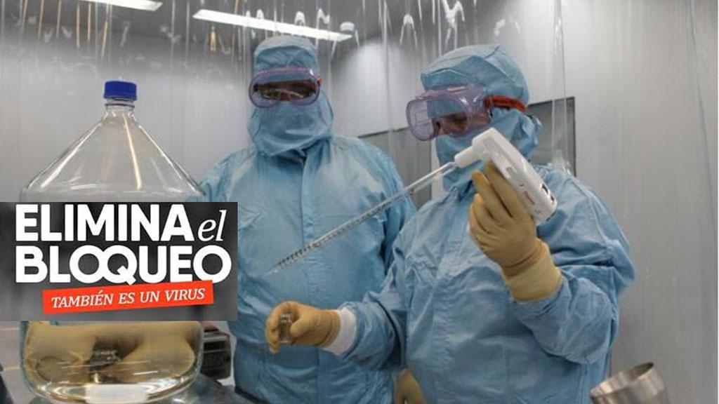 Denuncia BioCubaFarma impacto del bloqueo en la industria biofarmacéutica