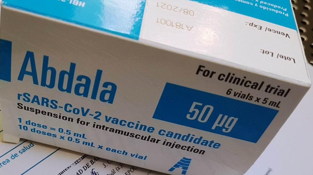 Autorizan uso de emergencia de la vacuna cubana anti-COVID-19 Abdala