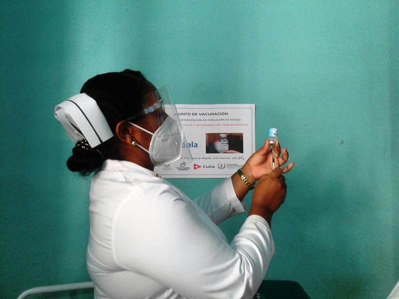 Alegría en la Perla del Sur para la vacunación masiva con Abdala (+Audio)