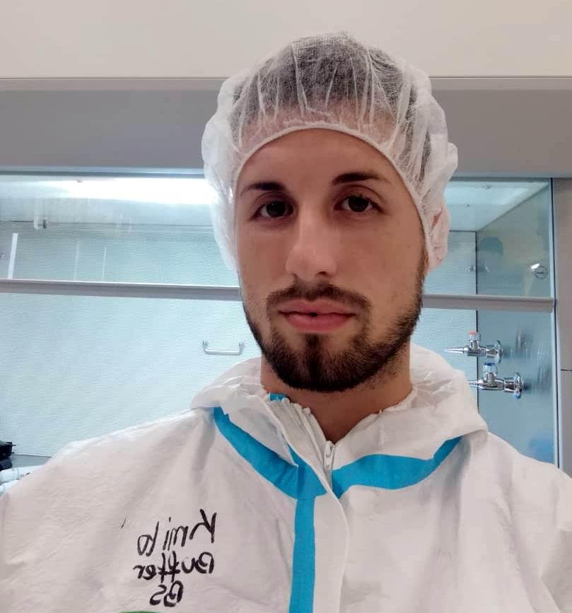 Camilo Hernández, un joven que apuesta por la Ciencia