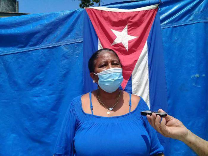 Alina Borges Cleger, representante de la FMC, consultorio No.23, en Miraflores Nuevo. Foto: Carlos Manuel Serpa