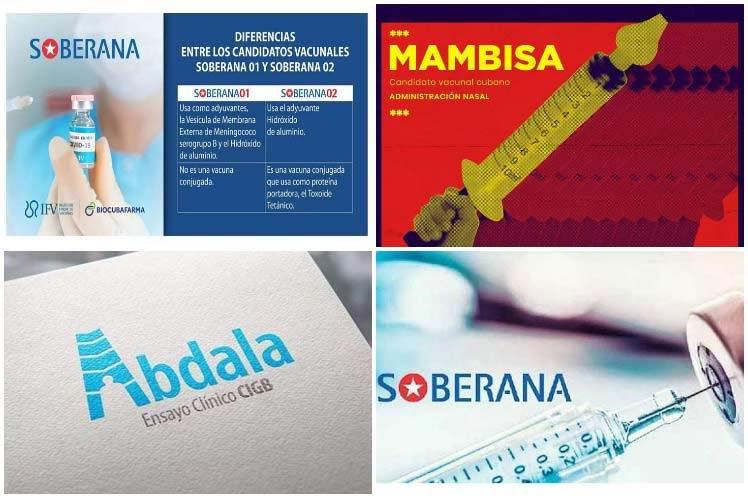 Candidatos vacunales cubanos a la covid-19