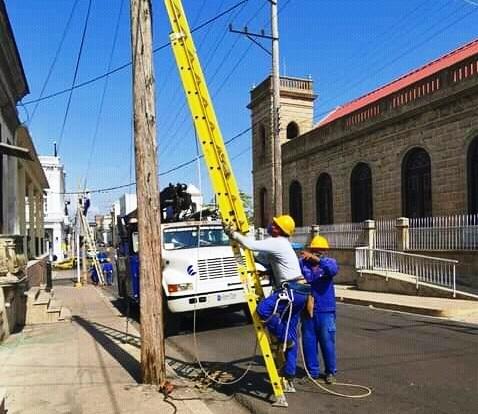 Desarrolla ETECSA importantes inversiones en Cienfuegos (+Audio)