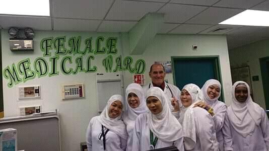 Misión médica en Arabia Saudita