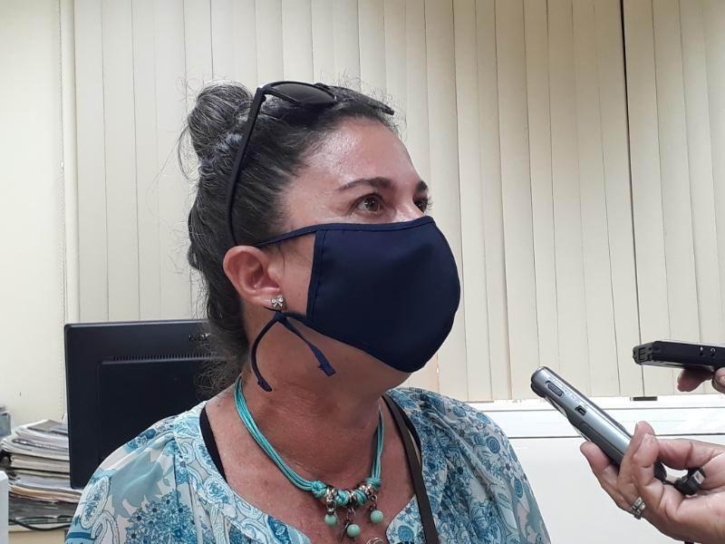 Licenciada Beatriz Paredes Moreno, especialista de la Dirección de Investigación Clínica y Evaluación de Impactos del Instituto Finlay de Vacunas