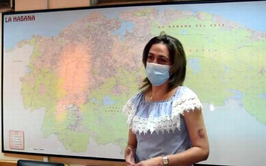 Dra. Mayra García Carmenate, investigadora coordinadora de los ensayos clínicos de Soberana 02