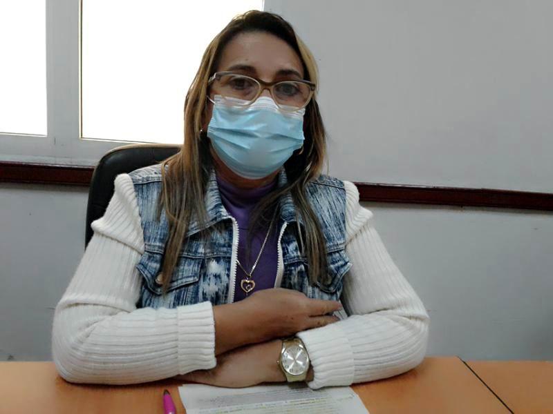 Doctora Miriam Caridad Pellón, Vicedirectora de Asistencia Médica del Policlínico Universitario Cecilio Ruiz de Zárate