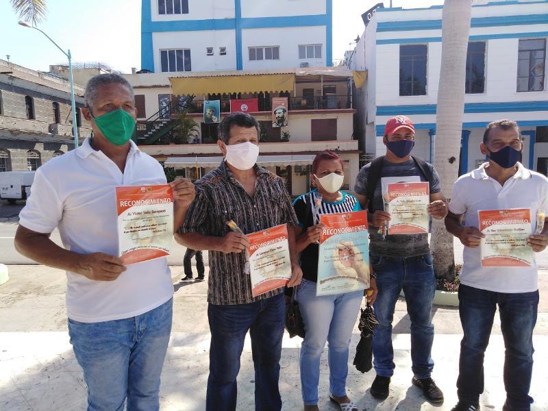 Ratificaron los tuneros la condición de Destacados en las donaciones  de sangre