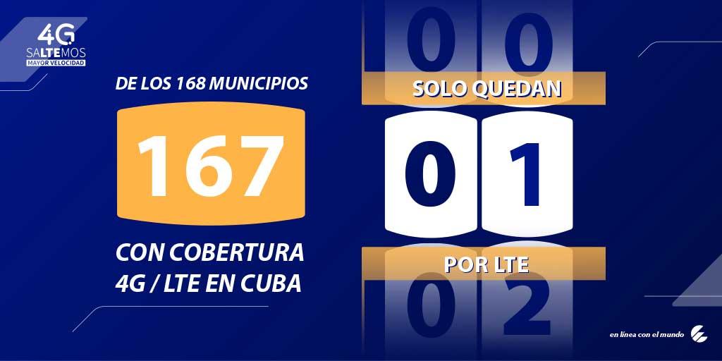 Cuba con más velocidad de conexión, en breve con 4G en sus 168 municipios