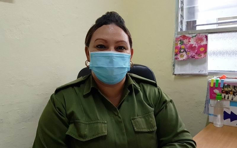 Vicedirectora Administrativa del Hospital Militar de Camagüey, Yusleidis Laurencio Batista