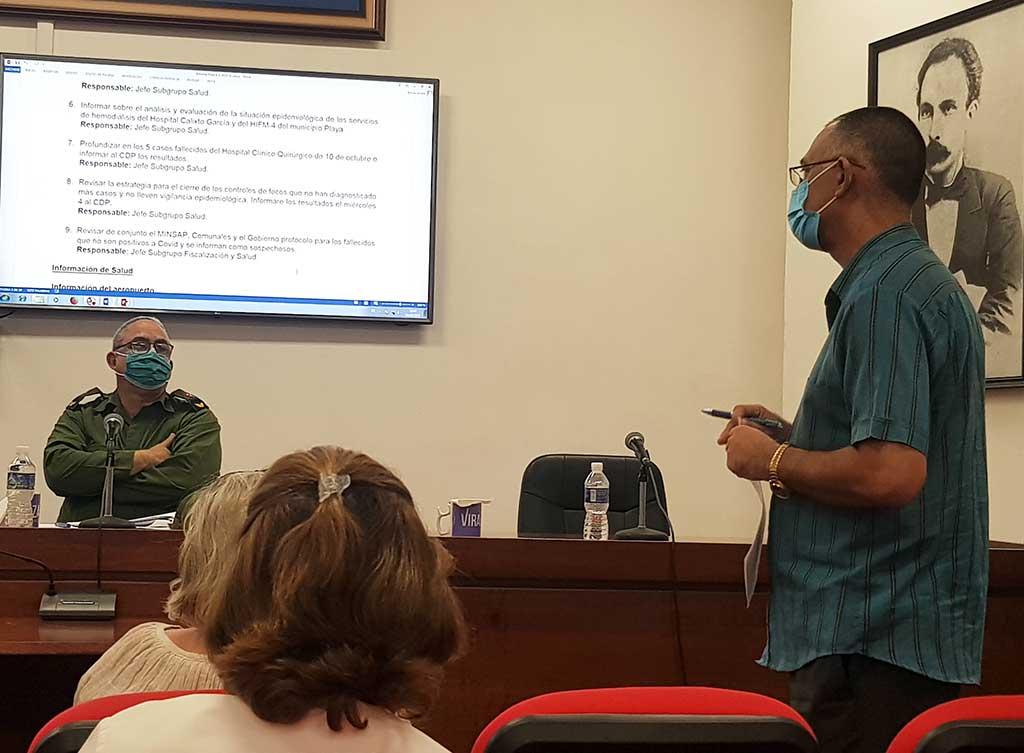 Despliegan acciones en La Habana para revertir el incremento de graves y críticos por COVID-19