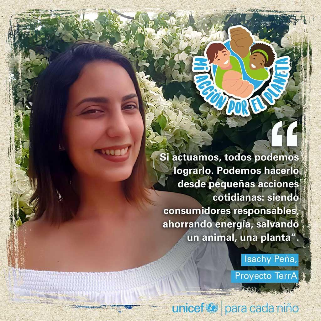 """Lanzan campaña """"Mi acción por el planeta"""""""