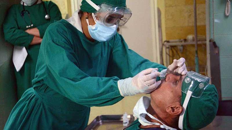 Comenzará en Cuba aplicación del Nasalferón a viajeros y convivientes
