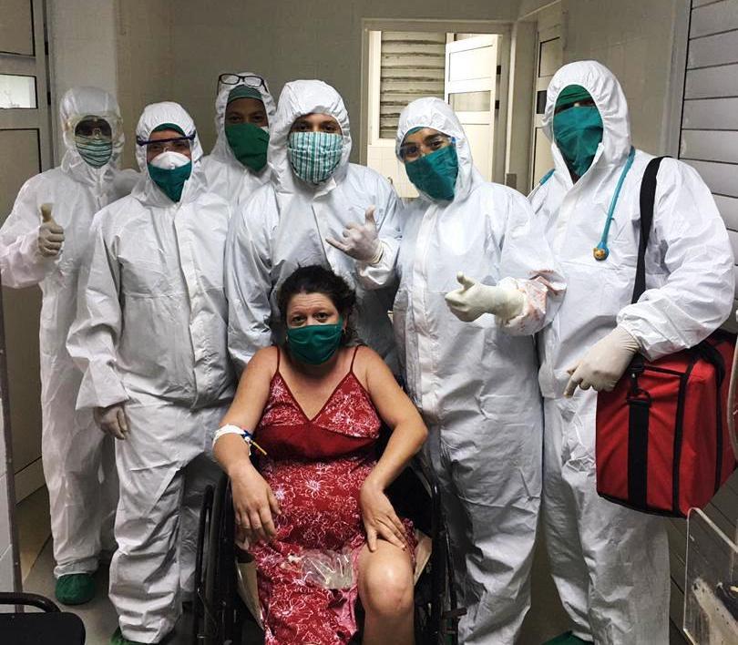 Paciente de COVID tuvo un parto normal en Cienfuegos (+Audio)